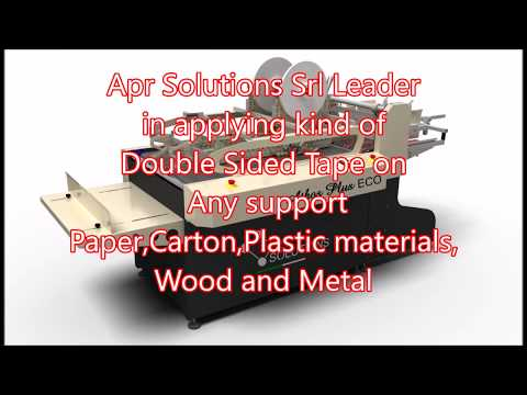 Double sided tape machine , Folder Gluer machine , Envelopes maker machine
