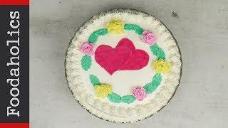 Εύκολη τούρτα σοκολάτα-βανίλια για την γιορτή των ερωτευμένων | Foodaholics