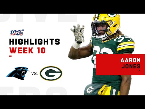 Aaron Jones Is a Touchdown Machine | NFL 2019 Highlights ...
