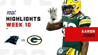 Aaron Jones Is a Touchdown Machine | NFL 2019 Highlights