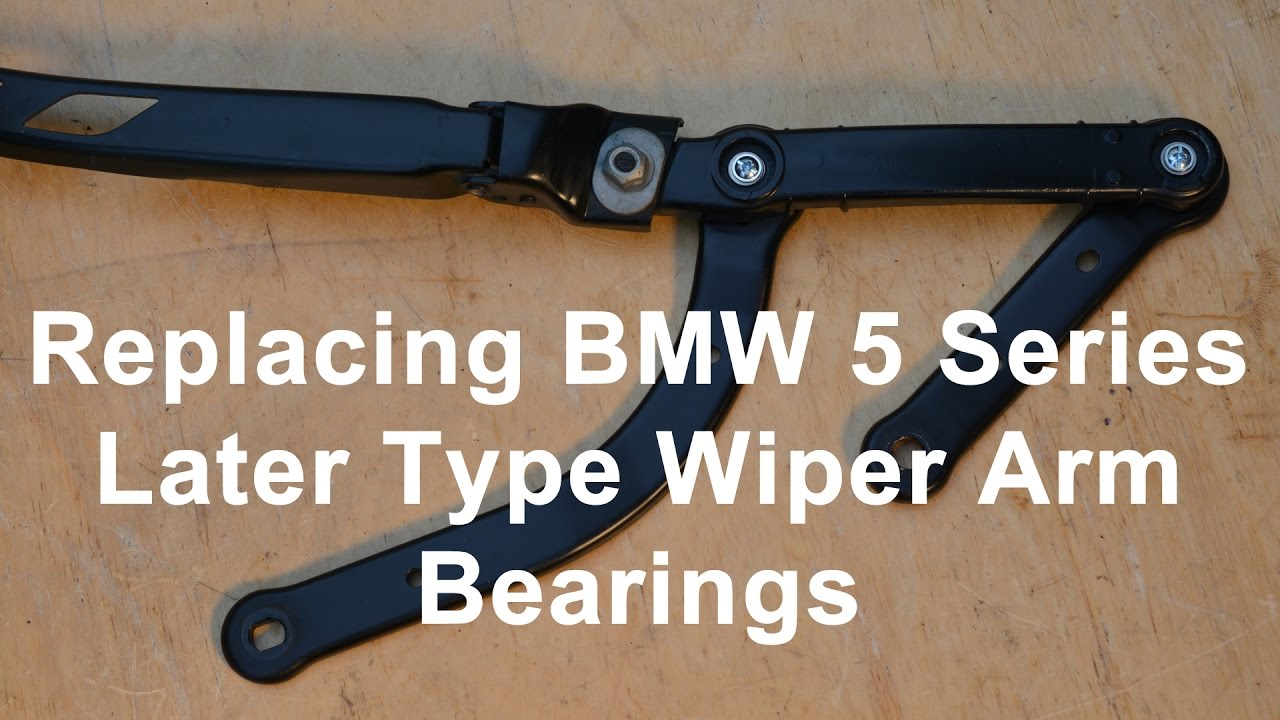 Replacing Bmw 5 Series Later Type Wiper Arm Bearings Youtube 2007 750li Headlamp Wiring Diagram