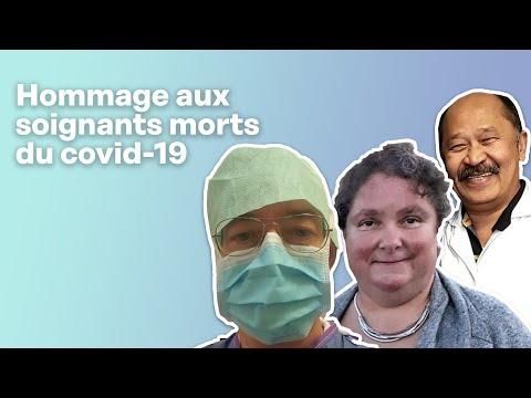 Hommage aux soignants français décédés du covid-19