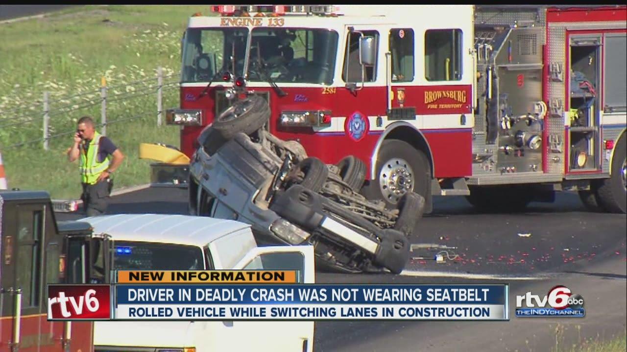 1 killed in crash on I-74 in Hendricks County