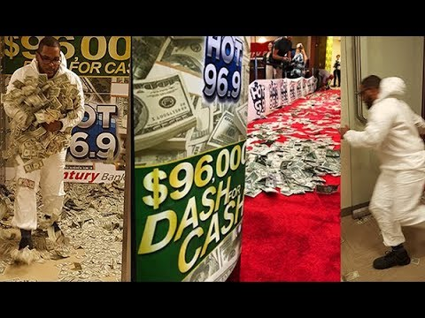 HOT 96.9's $96,000 Dash For Cash 2017