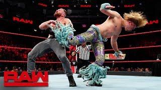 Dean Ambrose vs. Tyler Breeze - Intercontinental Championship Match: Raw, Dec. 17, 2018