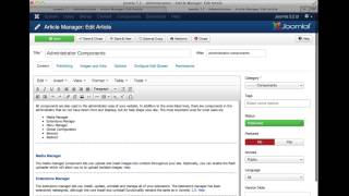 Joomla 3.2 - User eXperience (UX) Improvements