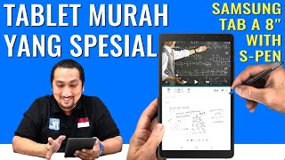 Review Samsung Galaxy Tab A8 with S-Pen 2019: 3 Jutaan, Tablet 4G Murah Kaya Fungsi - Indonesia