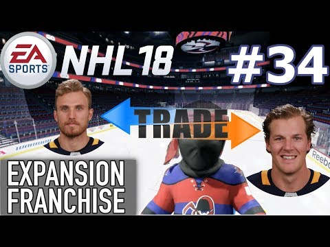 """NHL 18 Expansion Franchise #34 """"McCabe Traded - WRECKING FACE"""""""