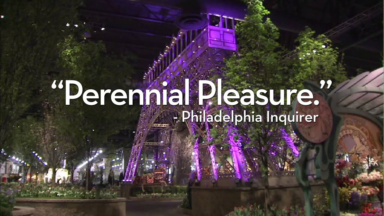 The 2015 Philadelphia Flower Show Lights Camera BLOOM