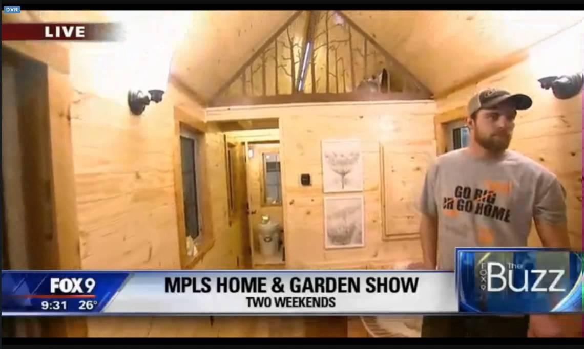 SCTCC Tiny House At 2016 Minneapolis Home + Garden Show