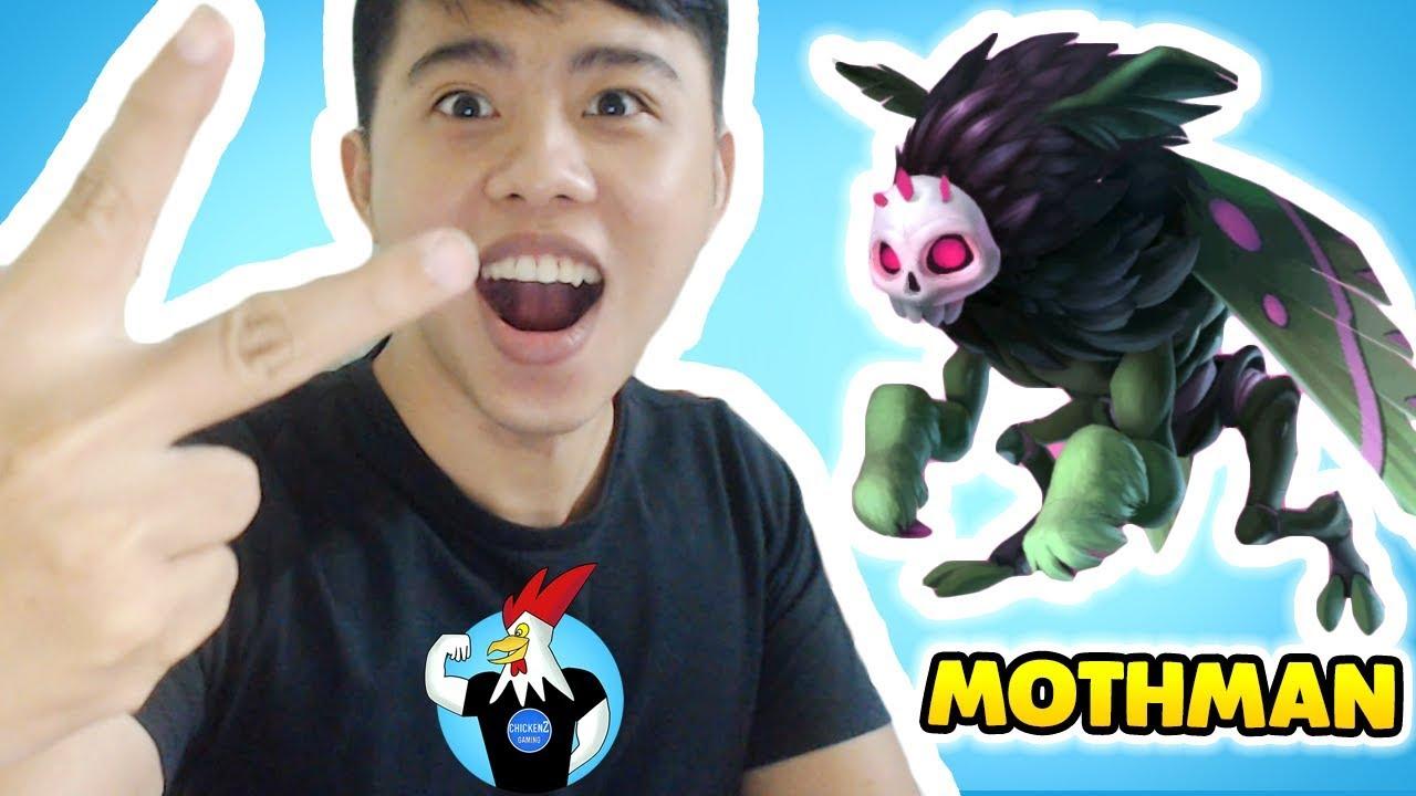 Monster Legends - Mothman level 1 to 90 - Combat
