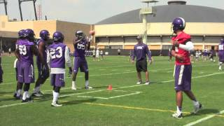Sights and sounds from TCU's second fall practice