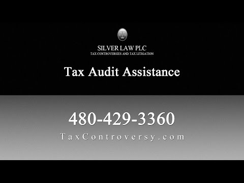 Tax Audit Representation by Silver Law