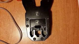 Как правильно обжать телефонный кабель(В этом видео я показываю как обжать телефонный кабель в коннекторе RJ-11, используя обжимной инструмент. Недо..., 2016-10-20T05:01:58.000Z)