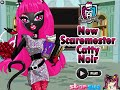 Monster High Games- New Scaremester Catty Noir- Fun Online Dress Up Fashion Games for Girls Kids