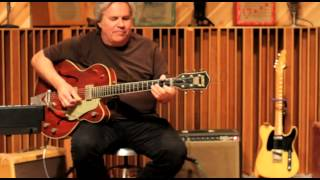 Doyle Dykes plays a Gretsch '59 CG at Aspen's Place Recording