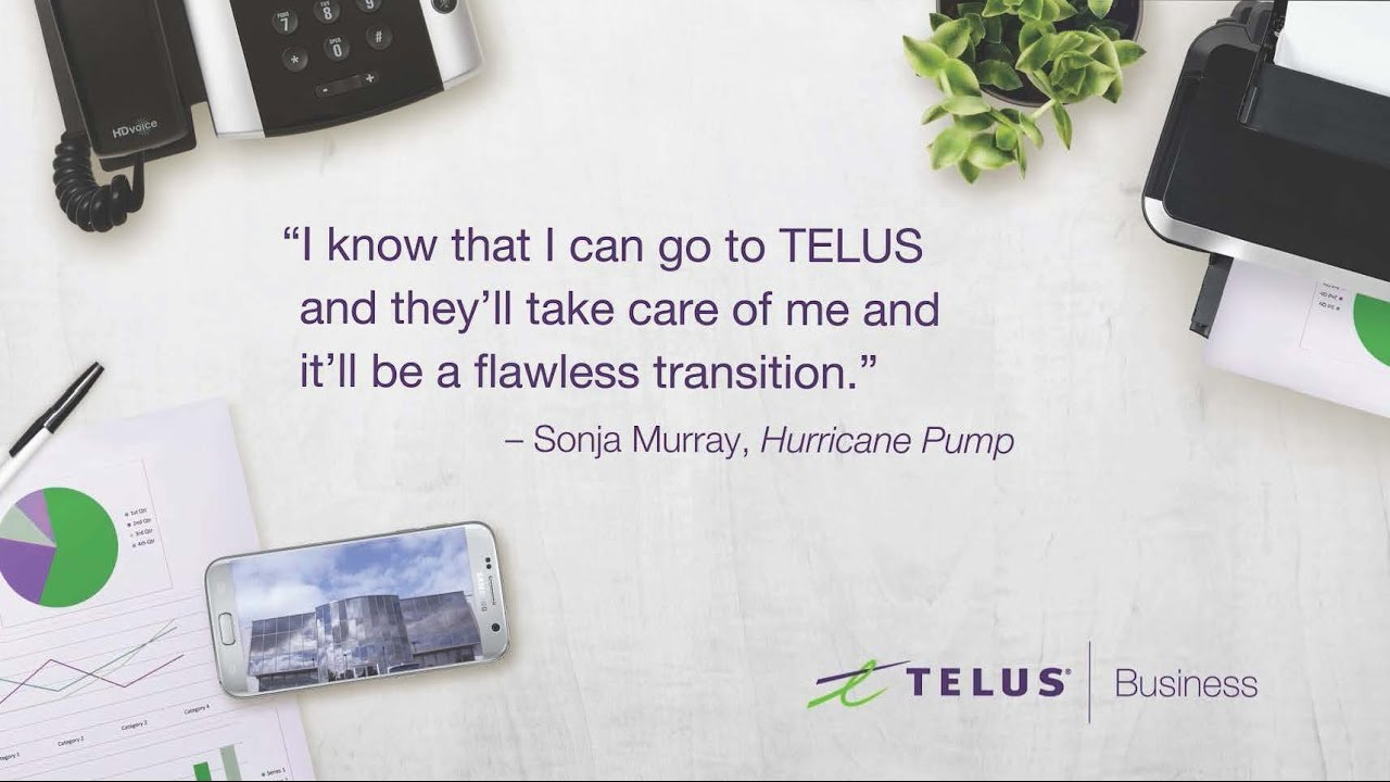 Business Connect Phone Hosted Voip System Telus Business