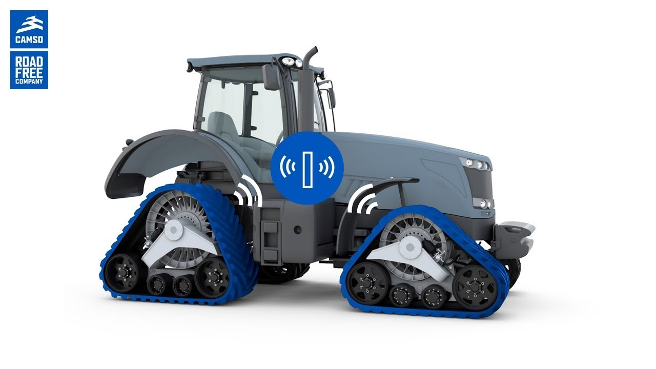 new smart track technology for tractors youtube