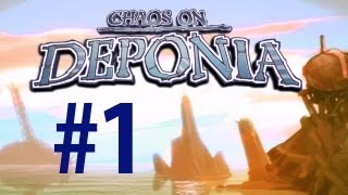 Deponia - Walkthrough Part 1 - Packing up [No commentary] [HD PC]