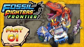 Fossil Fighters: Frontier -  Part 1: The Vivosaur Adventure Begins! [HD English Walkthrough]