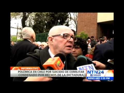 Polémica en Chile tras el suicidio de exmilitar condenado por hechos de dictadura de Pinochet