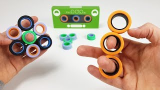 FinGears , Magnetic Rings Fidget Toy | Magnetic Games