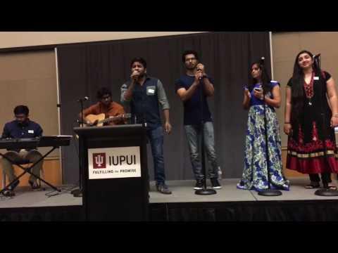 Naalona Pongenu Narmada @DesiJags Welcome event @IUPUI