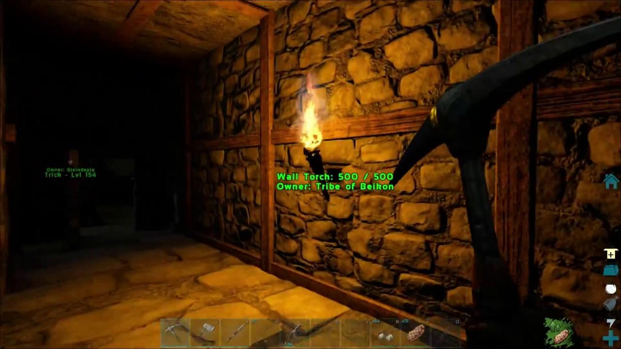 How Do Wall Torches Work ?   ARK Ragnarok
