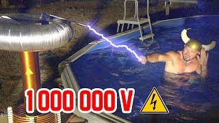 7 EXPERIMENTS WITH 1,000,000 VOLTS! (ELECTROCUTION)