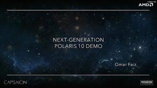 amd polaris gameplay demo fiji dual gpu 8 gb hbm 16 tflops