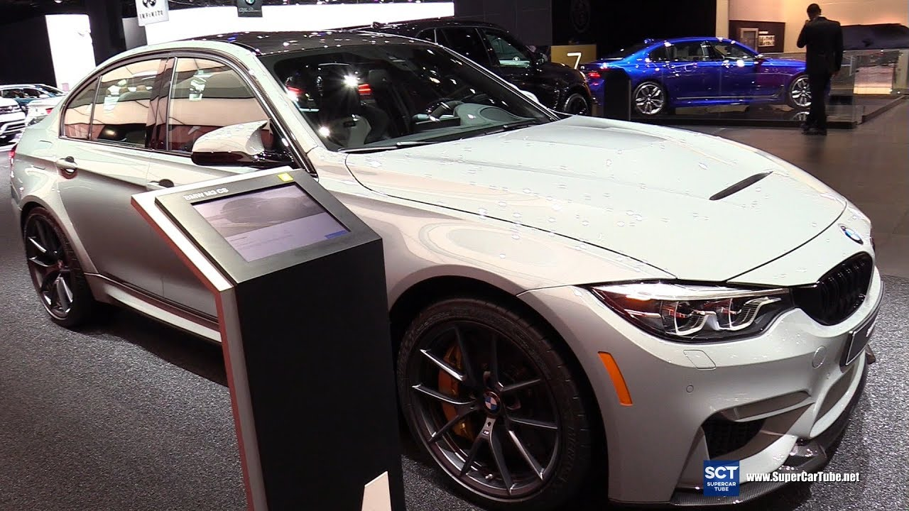 2018 Bmw M3 Cs Sedan Exterior And Interior Walkaround 2018