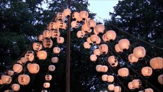 味美白山神社 総天王祭(提灯まつり)2013 The paper lantern festival of the Hakusan shrine