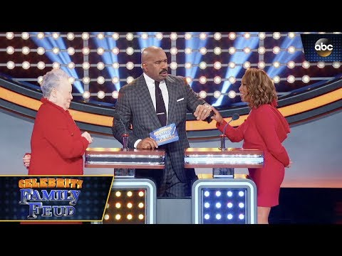 Steve Harvey's Wife Said THIS  Celebrity Family Feud 3x3
