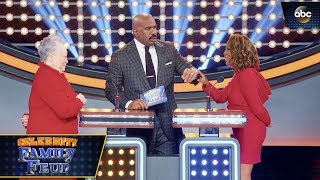 Steve Harvey's Wife Said THIS - Celebrity Family Feud 3x3