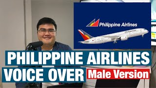 PHILIPPINE AIRLINES VOICE OVER MALE VERSION