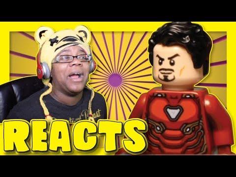 LEGO INFINITY WAR Parody By FlapJack Films | Animation Reaction
