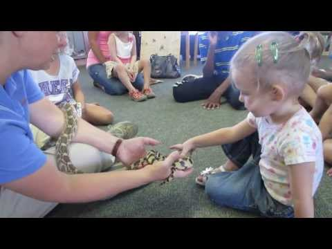 Snake friend at Prairie Preschool!