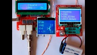 Тестер компонентов, ESR-метр и генератор - набор для сборки. Сборка, обзор и пара советов.