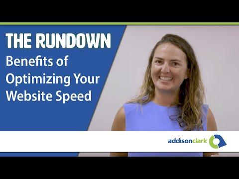 The Rundown: Benefits of Optimizing Website Speed