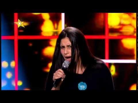 Radics Gigi a Megasztár válogatásán () - tv2.hu/megasztar