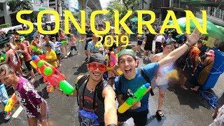 THE LARGEST WATERFIGHT IN THE WORLD!!! SONGKRAN (BANGKOK) - Vlog #105