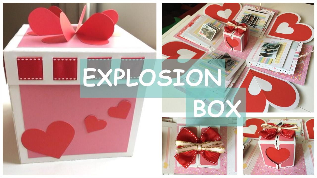 diy explosion box handmade