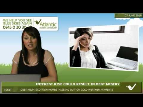 Interest rise could result in debt misery