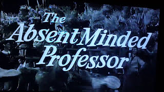 The Absent Minded Professor 1982 Laserdisc Opening