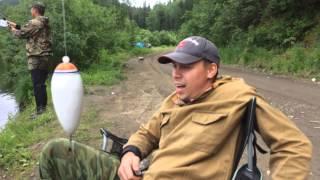 Рыбалка на Мане 3-6 июля 2014