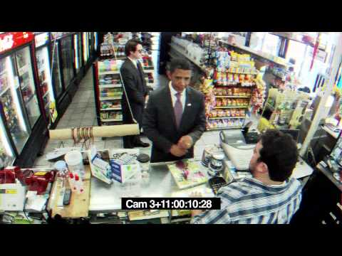 Barack Obama Buys Cigarettes