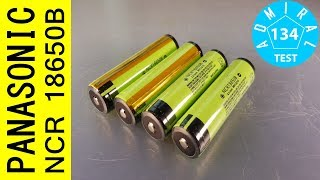 Тест аккумуляторов Panasonic NCR18650B 3350mAh с защитой