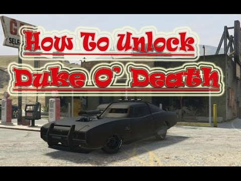GTA 5 How To Unlock Duke ODeath  Hidden Car  Walkthrough  YouTube