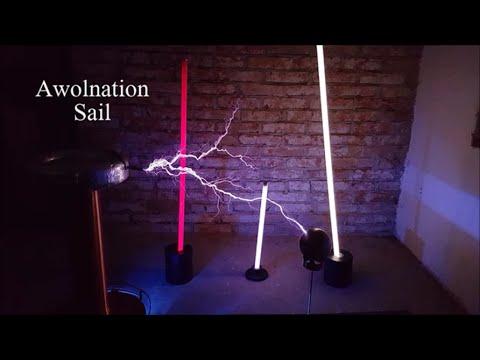 Tesla coil sail