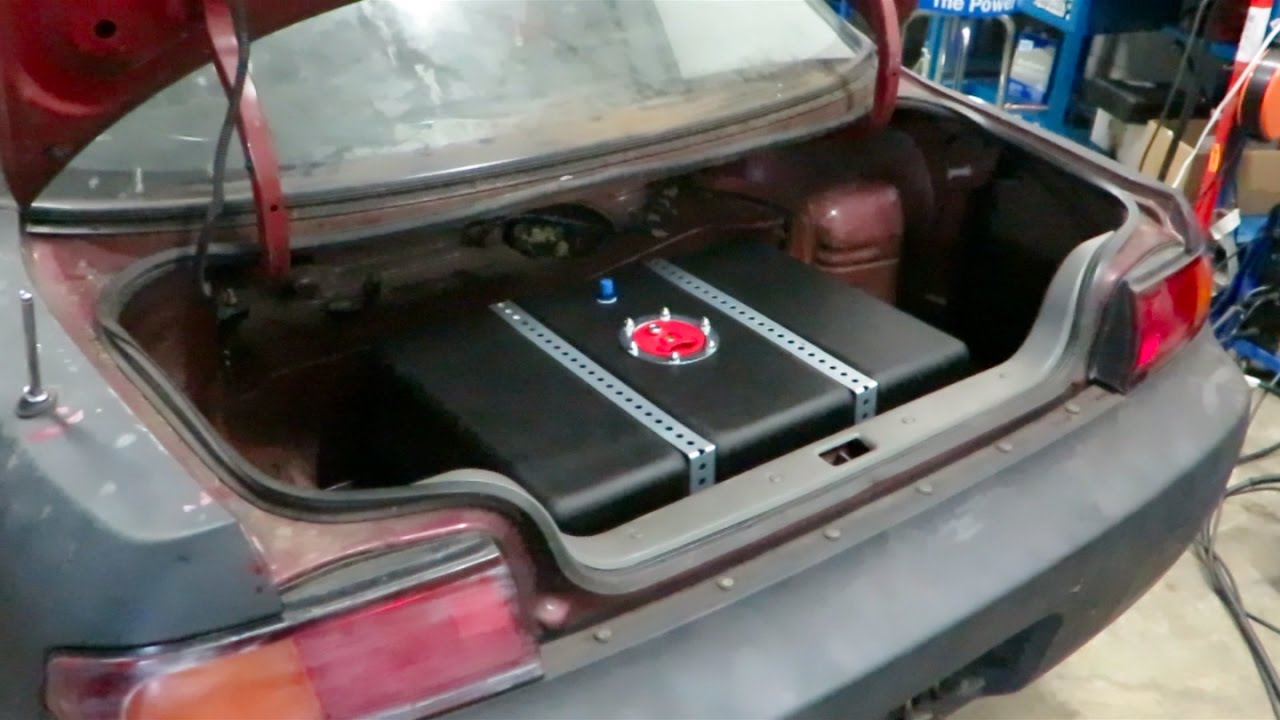 Vblog 380sx Update 240sx Custom Fuel Cell Install Youtube